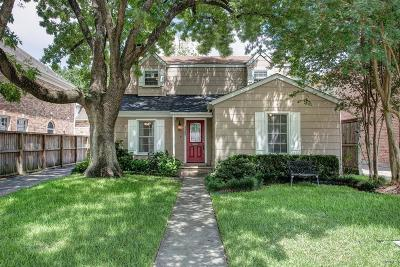 West University Place Single Family Home For Sale: 3806 Northwestern
