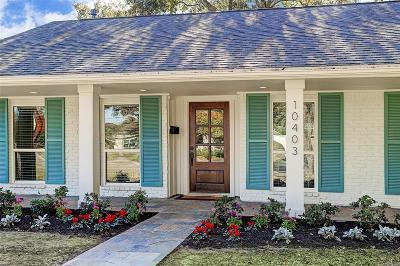 Houston Single Family Home For Sale: 10403 Timberwood Drive