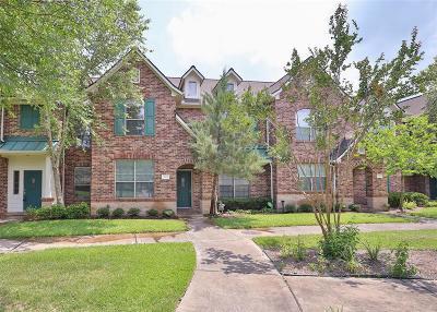 Houston Condo/Townhouse For Sale: 510 Cypress Vista