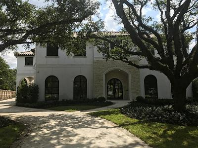 Houston TX Single Family Home For Sale: $4,995,000