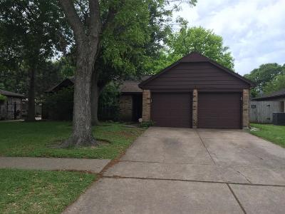 Houston Single Family Home For Sale: 9327 Benning Drive
