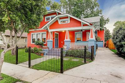 Greater Heights Single Family Home For Sale: 927 Key Street