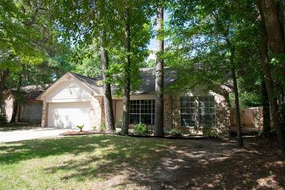 The Woodlands Single Family Home For Sale: 219 S Pathfinders Circle
