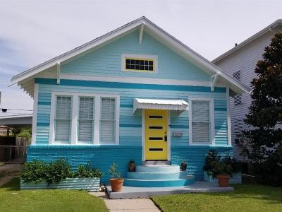 Galveston TX Single Family Home For Sale: $279,900