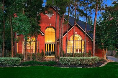 The Woodlands Single Family Home For Sale: 7 Mistflower Place