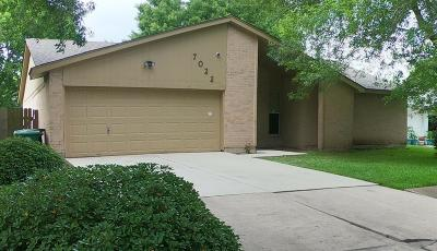 Houston Single Family Home For Sale: 7022 Rockergate Drive