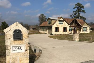 Willis Single Family Home For Sale: 1643 Opal Trail