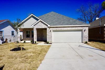 Houston TX Single Family Home For Sale: $189,900