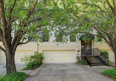 Houston Condo/Townhouse For Sale: 6501 Pickens Street #B