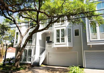 Montrose Condo/Townhouse For Sale: 3401 Stanford Street