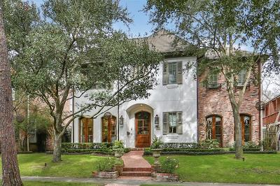 Houston Single Family Home For Sale: 2320 Bolsover Street