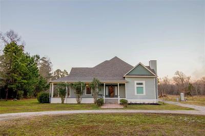 Conroe Farm & Ranch For Sale: 10885 Post Oak Drive
