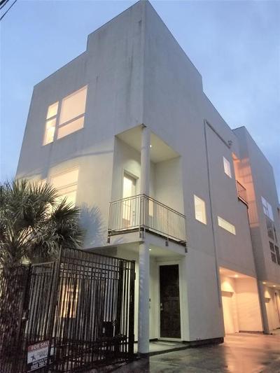 Houston Single Family Home For Sale: 1824 Southmore Boulevard #C