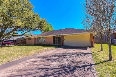 Houston TX Single Family Home For Sale: $345,000