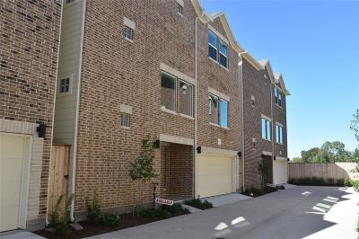 Houston Condo/Townhouse For Sale: 8743 Bryam
