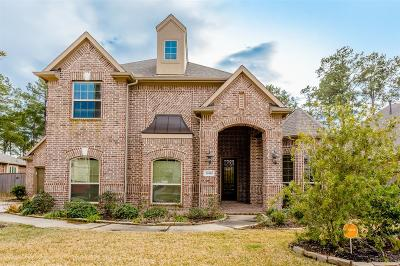 Tomball Single Family Home For Sale: 18810 Winding Atwood Lane