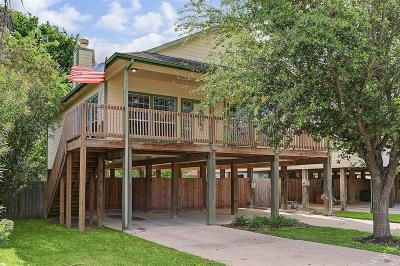 Kemah Single Family Home For Sale: 417 West Drive