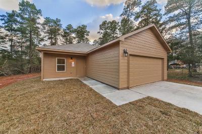 Willis Single Family Home For Sale: 14863 Burnett Road