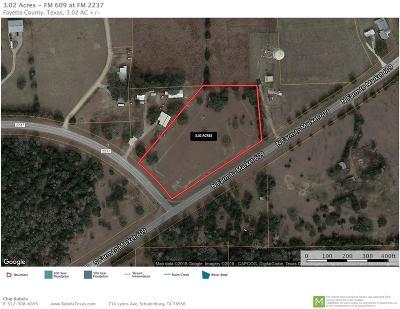 Fayette County Farm & Ranch For Sale: Fm 2237
