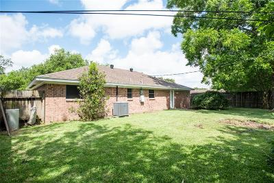 Alvin Single Family Home For Sale: 1101 Bayou Drive