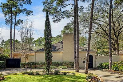 Houston Single Family Home For Sale: 231 Gessner Road