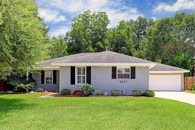 Houston Single Family Home For Sale: 3027 Prescott Street