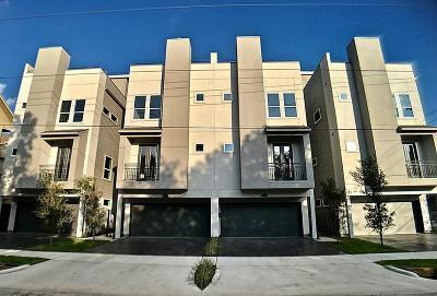Houston Condo/Townhouse For Sale: 2204 Cohn Street