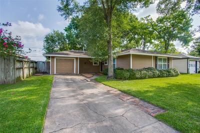 Houston Single Family Home For Sale: 5414 De Lange Lane