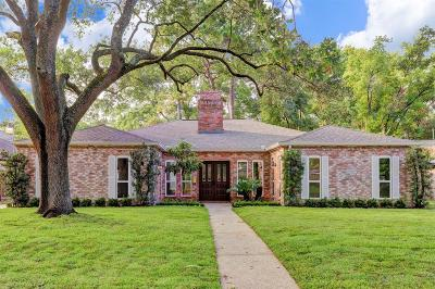 Houston Single Family Home For Sale: 10010 Green Tree Road