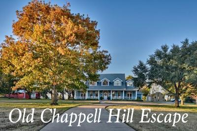 Washington County Single Family Home For Sale: 6257 Old Chappell Hill Road