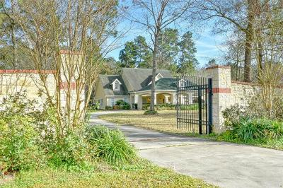 New Caney Single Family Home For Sale: 23994 Mossy Oaks Drive