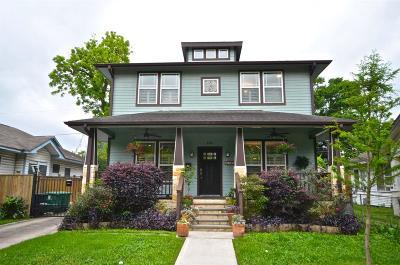 Houston Single Family Home For Sale: 4514 Rusk Street