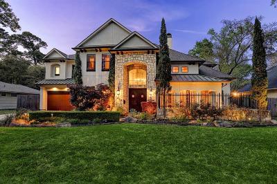 Houston TX Single Family Home For Sale: $1,550,000