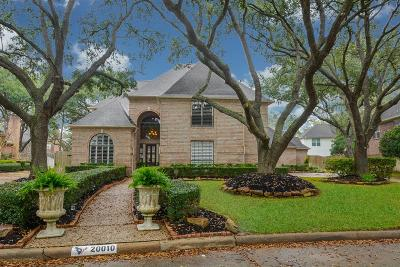 Katy Single Family Home For Sale: 20010 Chasestone Court