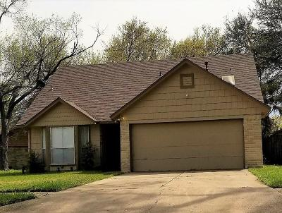 Houston Single Family Home For Sale: 7470 Woodoak Drive