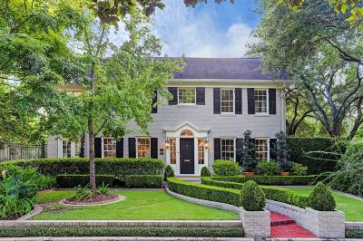 Houston Single Family Home For Sale: 2 W 11th Place