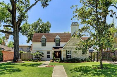 Houston TX Single Family Home For Sale: $949,000