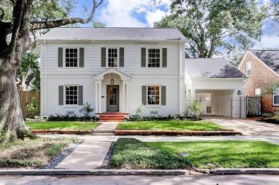 Houston TX Single Family Home For Sale: $1,288,000