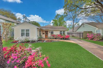 Houston Single Family Home For Sale: 1451 Althea Drive