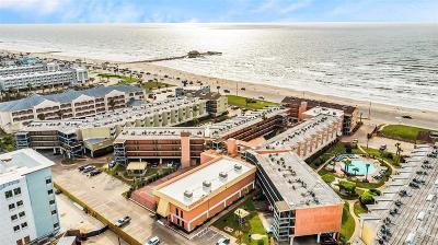 Galveston Condo/Townhouse For Sale: 6300 Seawall Boulevard #9108