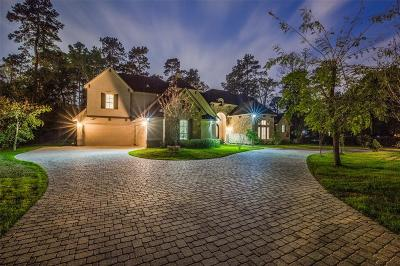 The Woodlands Single Family Home For Sale: 82 S Tranquil Path