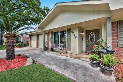 Houston Single Family Home For Sale: 6026 Beaudry Drive