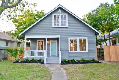 Single Family Home For Sale: 4622 Avenue P 1/2