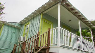 Galveston Rental For Rent: 1224 Avenue M #Upper