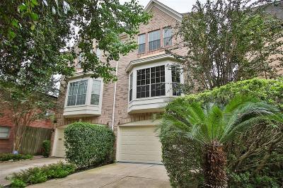 Houston Condo/Townhouse For Sale: 1810 Elmen Street
