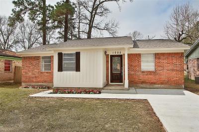 Conroe Single Family Home For Sale: 1002 Long Street