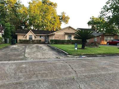 Houston Single Family Home For Sale: 5306 Grace Point Lane