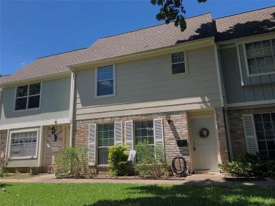 Houston Condo/Townhouse For Sale: 8102 Amelia Road #305