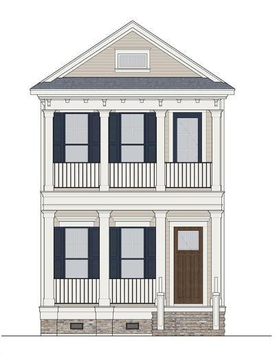 Houston Heights Single Family Home For Sale: 1034 Ashland B