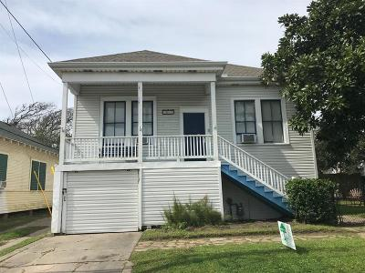 Galveston Single Family Home For Sale: 1511 18th Street
